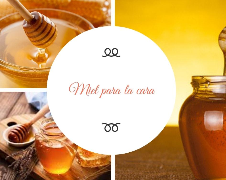 Miel para la cara usos