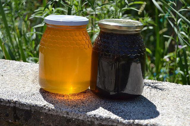 miel clara oscura