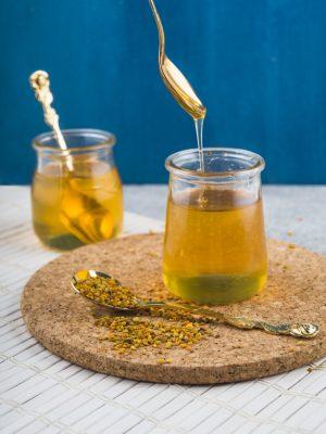 miel con polen